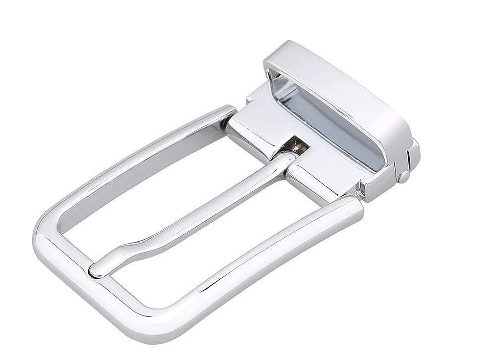 SHULI Mens Casual Pin Buckle Belt Buckle Belt Buckle Hot Belt Head Buckle