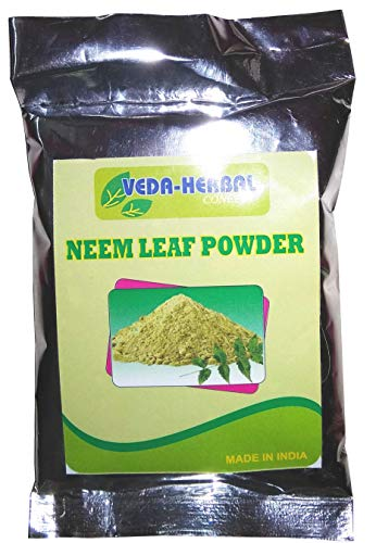 Veda Herbal Concept -Natural Neem Powder Face Pack & Hair Care pack of 6x100gms