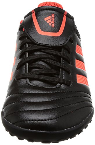 adidas Unisex-Kinder Copa 17.4 TF Fußballschuhe Mehrfarbig (Core Black/solar Red/solar Red)