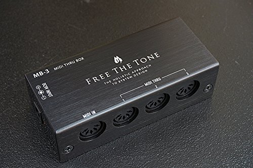 FREE THE TONE / MB-3 MIDI THRU BOX   B00OUVK5DW