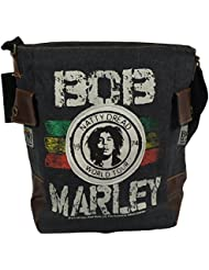 Bob Marley Rasta Natty Dread Messenger Handbag