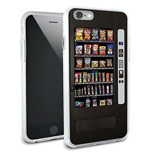 Snacks Chips Candy Automaten Schutzhülle Slim Hybrid Rubber Bumper für Apple iPhone 66S