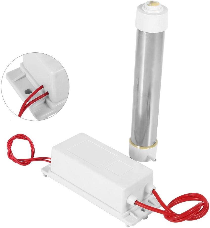 FTVOGUE Cuarzo Generador de Ozono Tubo para Agua purificador de Aire Esterilizador Limpiador 3 G 220 V Duradero Ozono generador Ozono Cuarzo Manguera: Amazon.es: Hogar