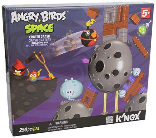 Angry Birds Space KNEX Exclusive Building Set #72437 Crat...