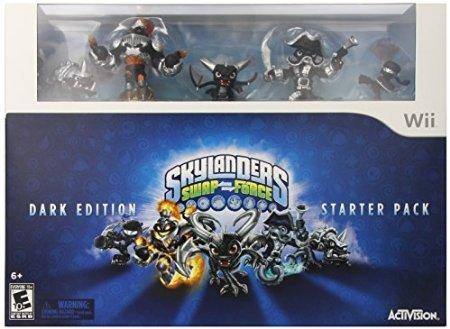 5Star-TD Skylanders SWAP Force Dark Edition Starter Pack - Wii