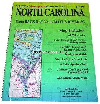 GMCO 40200 NC Chart Book Waterproof (Waterproof Chart Book)