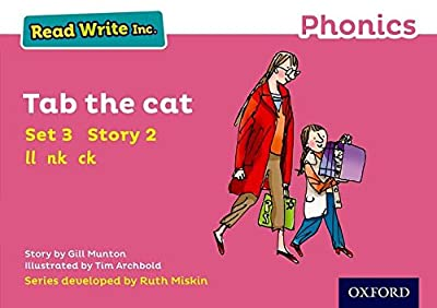 Read Write Inc. Phonics: Pink Set 3 Storybook 2 Tab the Cat