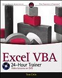 Excel VBA 24-Hour Trainer, Tom Urtis, 047089069X