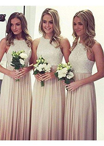 Demoiselle D'honneur Top En Dentelle Blanche Femmes Dys Robe Longues Robes Formelles Pour Les Mariages Verts