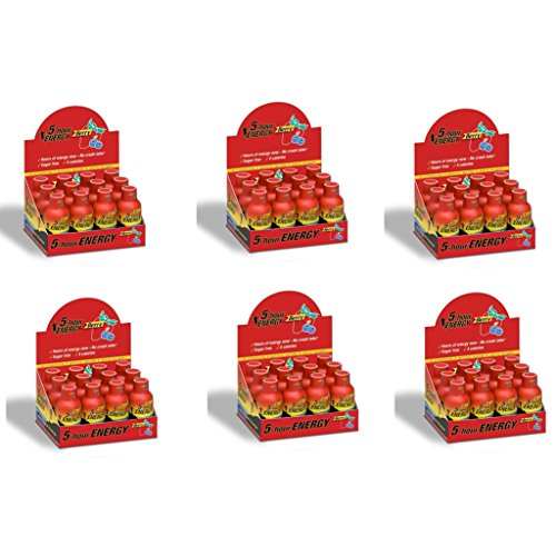 5 Hour Energy Shot Berry- 72 Pack of 2 Ounce Bottles by 5 Hour Energy
