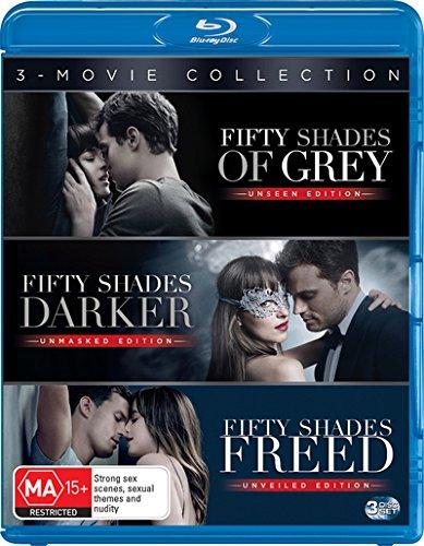 Fifty Shades Of Grey   F  S  Darker   F  S  Freed   Non Usa Format   Region B Import   Australia