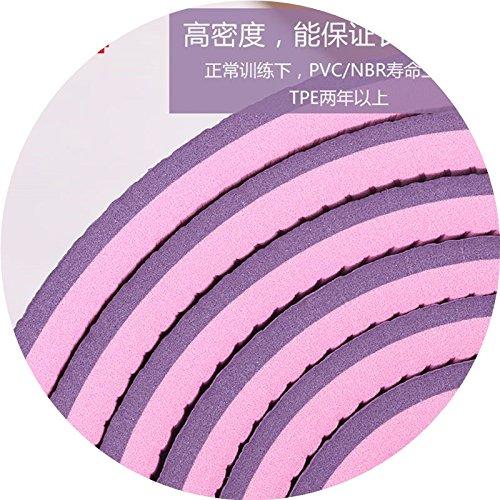 YOOMAT 4-Pack, per garantire la KA Anello Yu Pad Anti-Plus 1 Plus Gli Uomini e Le Donne E-Yu Pad 3 Heavy TP-Pad Gamma, 8mm (antipasto), in Bianco e Nero Profondo viola167352