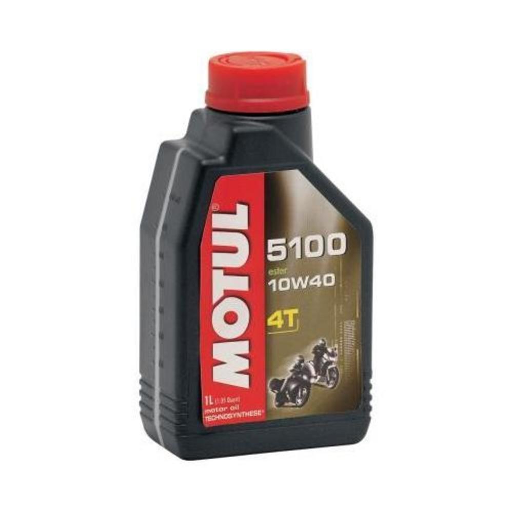 4.Motul 5100 Synthetic-Blend Motor Oil - 10W40 - Gallon