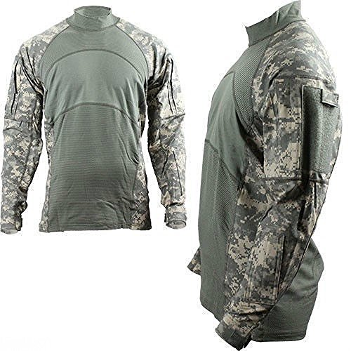 USGI ARMY ISSUE ACU DIGITAL COMBAT SHIRT FLAME RESISTANT X-SMALL