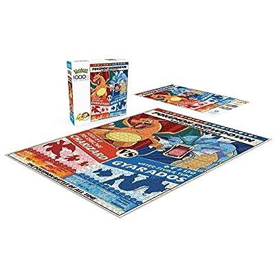 Buffalo Games - Pokemon Showdown: Charizard V. Gyarados - 1000 Piece Jigsaw Puzzle: Toys & Games