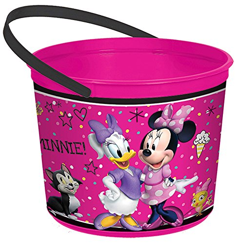 amscan Minnie Mouse Helpers Favor Container -