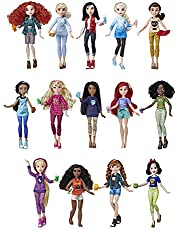 Disney Princess Ralph Breaks The Internet Movie Dolls with Comfy Clothes & Accessories, 14 Doll Ultimate Multipack (Amazon Exclusive)