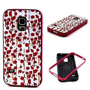 YULIN Teléfono Móvil Samsung - Cobertor Posterior - Gráfico/Diseño Especial - para Samsung Galaxy Mini S5 ( Multi-color , Plástico )