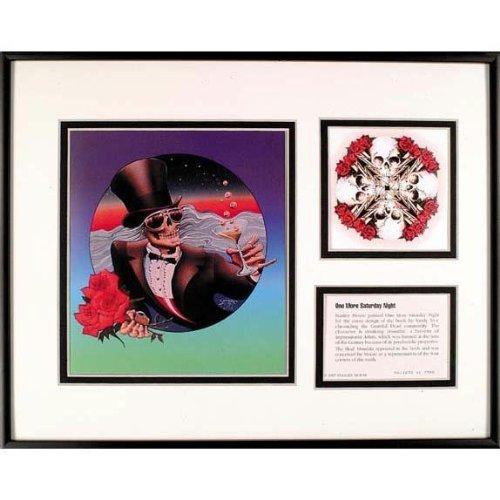 Grateful Dead - Mr. Saturday Night Framed Art (Greatful Dead Bear)
