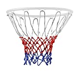 TRIXES 12 Loop Basketball Net Red/White/Blue Nylon
