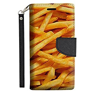 Samsung Galaxy Note 5 Wallet Case - French Fries