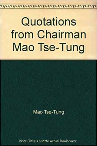 Pdf chairman mao quotations from