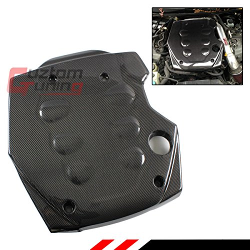 - Fits for 2003-2007 Inifinit G35 Coupe & Sedan JDM Real Carbon Fiber CF Engine Valve Cover