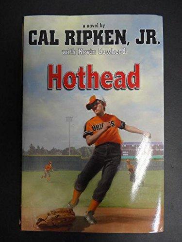 Cal ripken jr. Hothead baseball book autographed copy signed auto.