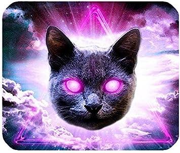 Laser Gato Espacio Rectángulo Pads para ratón de Ordenador: Amazon.es: Electrónica