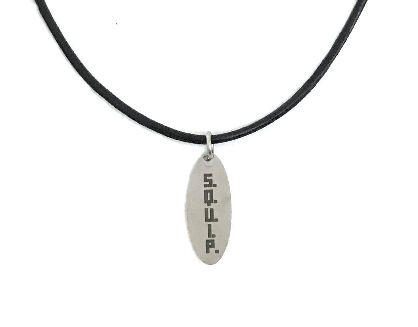 Be More Chill: Jewelry Collection (SQUIP Leather Pendant)