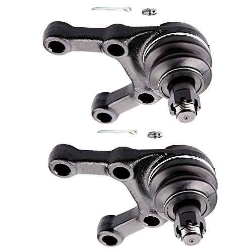 OCPTY - New 2-Piece fit for 1983-1986 Dodge Power Ram 50 Raider Ram 50 Mitsubishi Mighty Max Montero 4WD-2 Front Lower Ball Joints ()