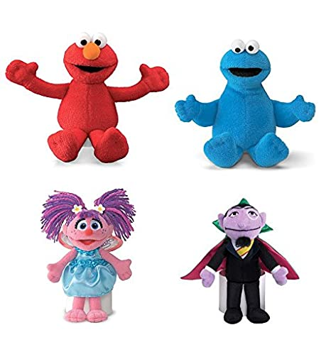 Sesame Street Count Von Count Plush Toy Toys Games Toys