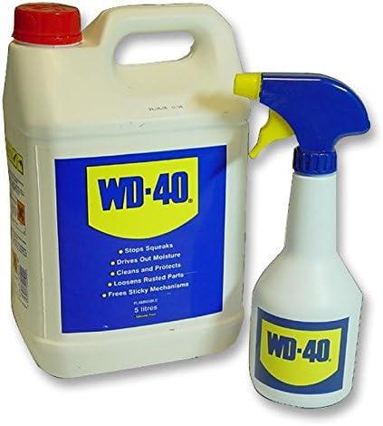 WD40 44106 Wd40 5l + aplicador – Pack de 1: Amazon.es: Coche y moto
