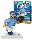 MLB Kansas City Royals Alex Gordon Generation 5 Minifigure, Small, White