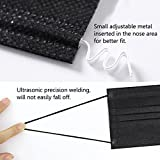 100 psc Black Earloop Disposable Surgical Mask