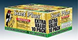 Wildlife Sciences 240 Wild Bird Suet Plus Cakes, Pack of 10