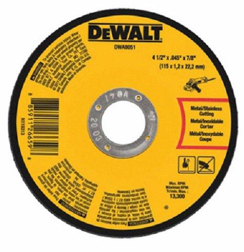 Dewalt DWA8051 4-1/2'' x 7/8'' x .045'' Metal Thin Cut Off Wheels - Quantity 38 by DEWALT