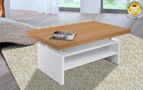 couchtisch wei buche energiemakeovernop. Black Bedroom Furniture Sets. Home Design Ideas