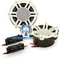 JL Audio M100-CT-SG-WG-NC 1 Marine Silk Dome Tweeters with Sport Grilles