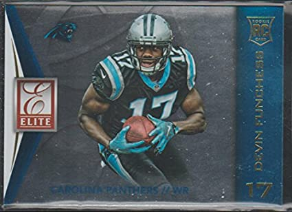 2015 Donruss Elite Devin Funchess Panthers Rookie Football Card  66 ... 71b0390cb