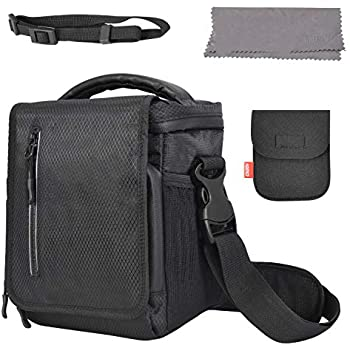 CADeN FPV Drone Carrying Bag/Case/Shoulder Bag/Cross-Body Bag, Waterproof Portable Traveling Bag Thick Padded Protection & Rain Cover