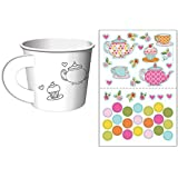 Tea Time Tea Party Decorate Your Own Favor Cups (Value 2-Pack: 12 ct)
