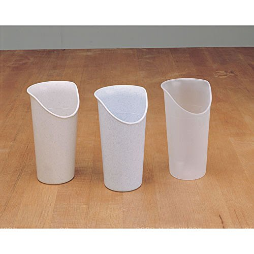 Maddak Clear Nosey Cup, 6-Pack ()