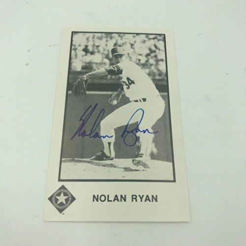 Nolan Autographed Baseball (Nolan Ryan Signed Autographed Baseball Card)