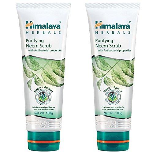 Himalaya Herbals Purifying Neem Scrub, 100g  Pack of 2