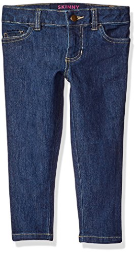 French Toast Little Girls' Toddler Denim Pant, Medium Wash, 3T by French Toast