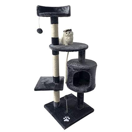 Árbol para Gatos - Centro De Actividades De Sisal De Gran Nivel Muebles De La Torre