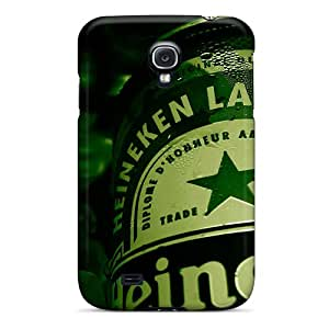 Durable Protector Case Cover With Heineken Lager Beer Hot Design For Galaxy S4