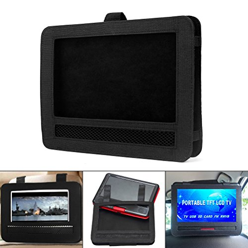 Car DVD Player Holder,Shellvcase Car Headrest Mount Strap Holder Case For 9″Inch Portable DVD Player