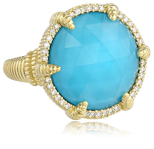 Judith Ripka Eclipse 18k Yello